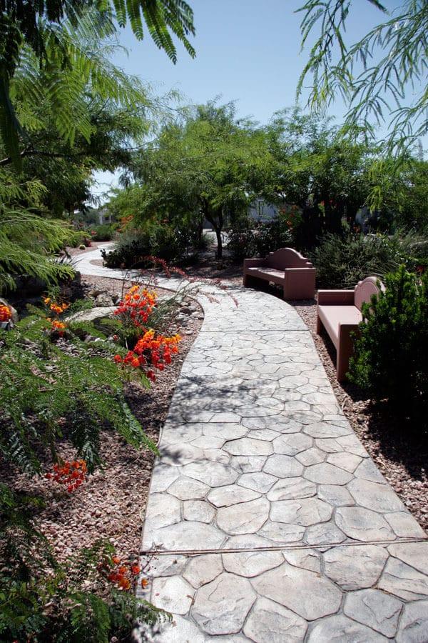 desert-pueblo-walking-path-benches