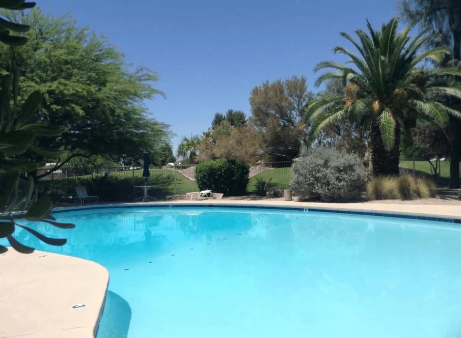Desert Pueblo Pool